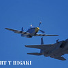 P-51 Mustang with F-15 Eagle