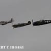 P-51, P-40 and F6F Hellcat
