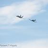 Heritage flight: FA-18 Hornet and a F4U Corsair