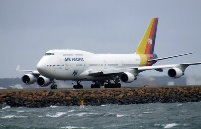 Air Pacific Boeing 747-400 DQ-FJK