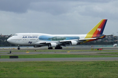 Air Pacific  Boeing 747-400 DQ-FJL