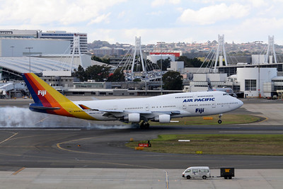Air Pacific Boeing 747-412 DQ-FJK