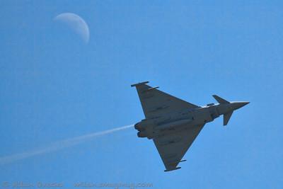 Eurofighter Typhoon FGR4, Squadron Leader Scott Loughran, 6 Squadron, RAF Leuchars, The Jubilee Air Show, Duxford
