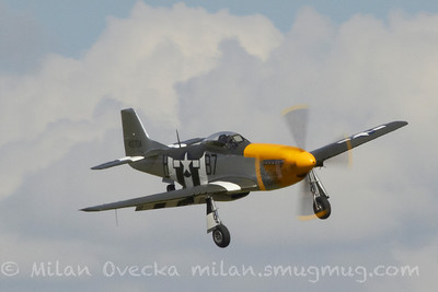 "P-51D Mustang ""Ferocious Frankie"", Old Flying Machine Company, Flying Legends, Duxford 2012"