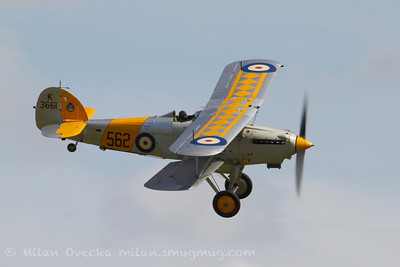 Hawker Nimrod at Flying Legends, Duxford 2012