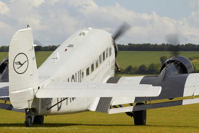 Junkers Ju-52 at Flying Legends, Duxford 2012