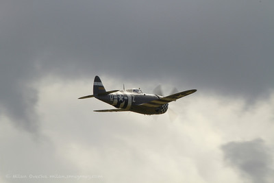 "P-47G Thunderbolt ""Snafu"", Flying Legends, Duxford 2012"