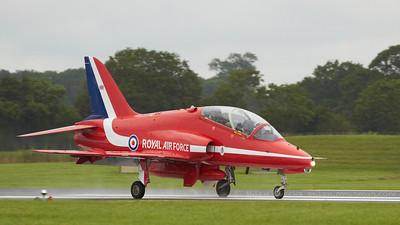 BAe Hawk T1/T1A, Red Arrows, The Royal Air Force aerobatic team, RAF Scampton.
