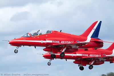 Red Arrows, Royal Air Force Aerobatic Team, RAF Scampton