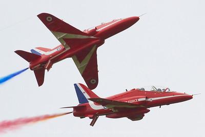BAe Hawk T1, Red Arrows, The Royal Air Force aerobatic team, RAF Scampton