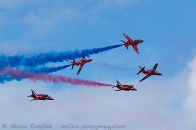 Red Arrows, Royal Air Force Aerobatic Team, RAF Scampton