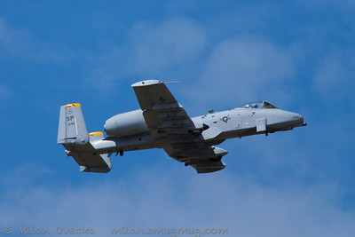 Fairchild Republic A10C Thunderbolt II, A-10 West Demo Team, US Air Force, Spangdahlem AB, Germany