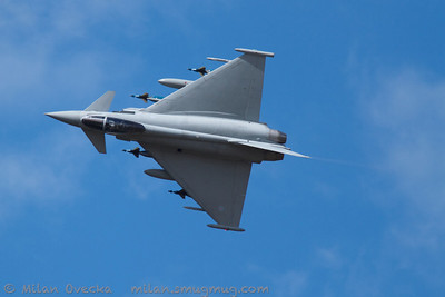 Eurofighter Typhoon FGR4, BAE Systems, Warton Airfield