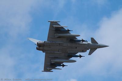 Eurofighter Typhoon FGR4, BAE Systems, Warton Airfield