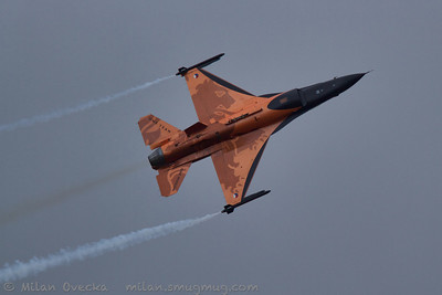 General Dynamics F-16AM Fighting Falcon, 322/323 Squadrons, Royal Netherlands Air Force, Leeuwarden