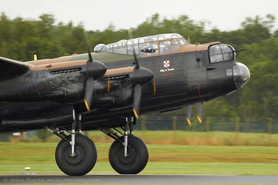 Avro Lancaster I bomber, Battle Of Britain Memorial Flight, RAF Coningsby