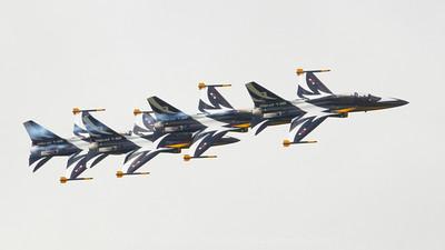 Korean Aerospace Industries T-50B, Republic of Korea Aerobatic team Black Eagles, Wonju