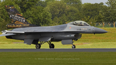 "General Dynamics F-16A MLU Fighting Falcon, 1st squadron ""Stingers"", Belgian Air Component, Florennes,"