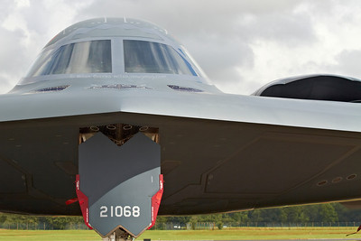 "B-2A Spirit ""Spirit of New York"", 393rd Bomb Squadron, 509th Bomb Wing, Whiteman AFB, Missouri at The Royal International Air Tattoo (RAF Fairford)"