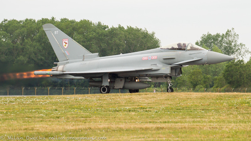 Eurofighter Typhoon, FGR4, ZK306, Royal Air Force