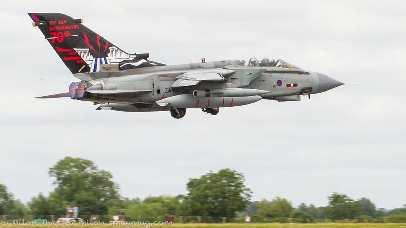Panavia Tornado GR4, ZA492, 70th Anniversary of Dambusters, No 617 Squadron, Royal Air Force