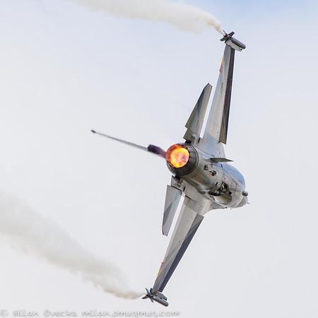 "Captain Renaud ""Grat"" Thys, F-16AM, Belgian Air Component"
