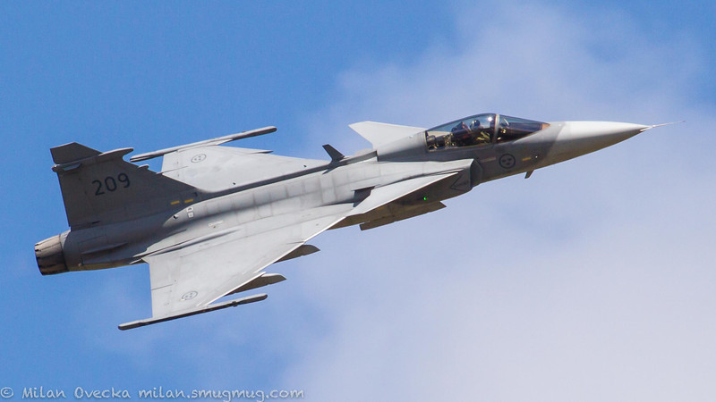Saab JAS 39C Grippen, Swedish Air Force