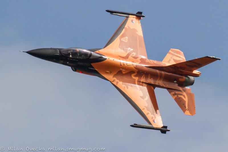 """Captain Stefan """"Stitch"""" Hutten, F-16AM, Fighting Falcon"""