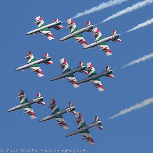 Frecce Tricolori, Italian Air Force