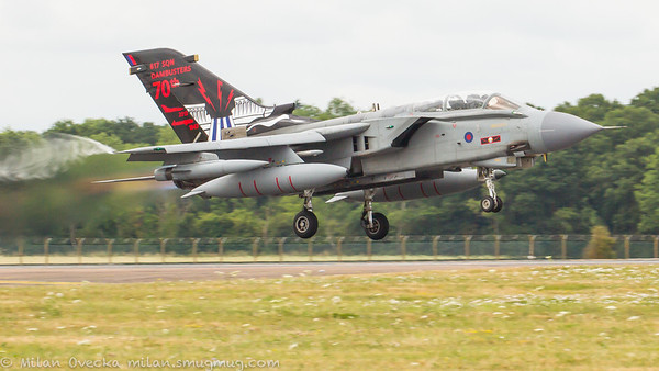 Panavia Tornado GR4, ZA492, 70th Anniversary of Dambusters, No 617 Squadron, Royal Air Force