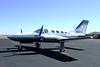 Cessna 421C Golden Eagle [1980] N421L<br /> Casparis Airport, Alpine, Texas - January 2009