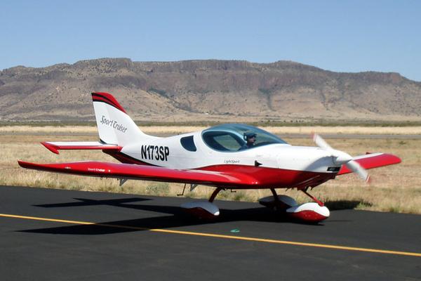 Czech Aircraft Works SportCruiser [2008] N173SP<br /> Casparis Airport, Alpine, Texas - May 2009