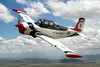 Beechcraft T-34A Mentor [1955] N9JD (s/n 53-3373)<br /> Over Brewster County, Texas - September 2009<br /> <br /> This is JD Daniel flying with Steve Belardo in the back seat.