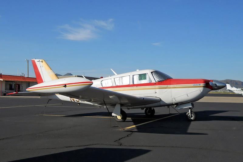 Piper PA-24-260 Comanche C Turbo [1971] N9458P<br /> Casparis Airport, Alpine, Texas - October 2012