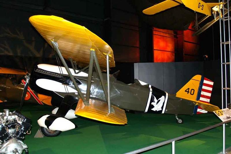 Curtiss P-6E Hawk [1932] s/n 32-0261<br /> National Museum of the USAF, Dayton, Ohio - April 2008