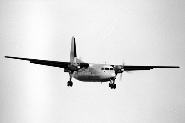 Fairchild Hiller FH-27<br /> Oxnard Airport, Oxnard, California - early 1970s