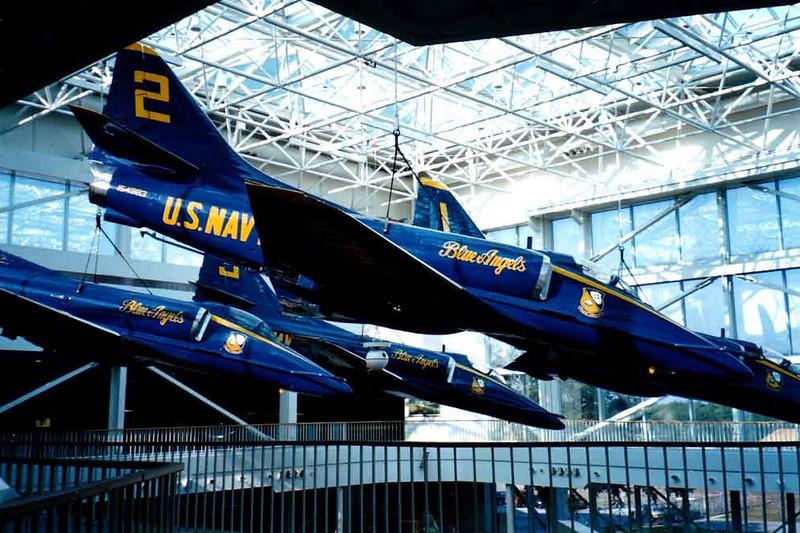 "Douglas A-4F Skyhawk [1967] BuNo 154983 ""Angel 2""<br /> National Museum of Naval Aviation, Pensacola, Florida - December 2000"