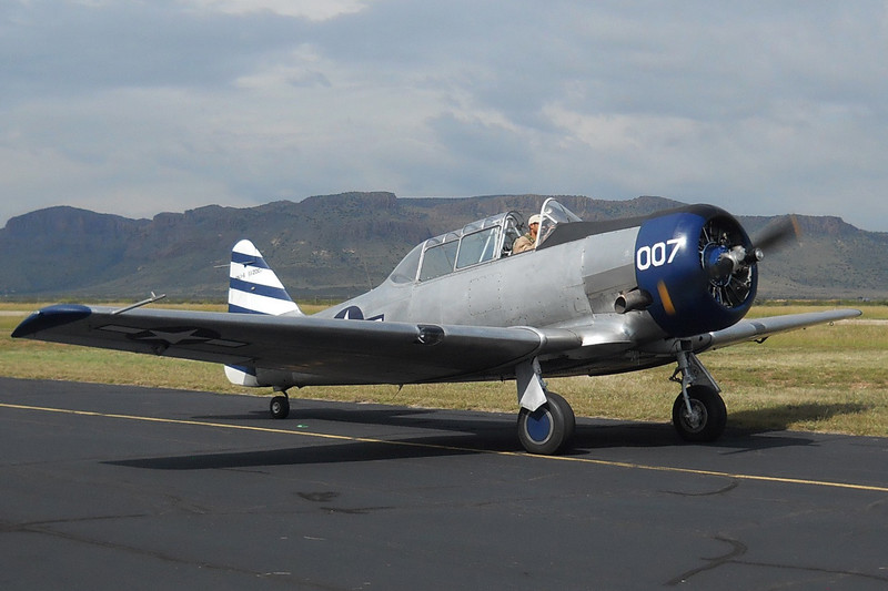 North American SNJ-6 (AT-6F) [1944] N5485V (BuNo 112007)