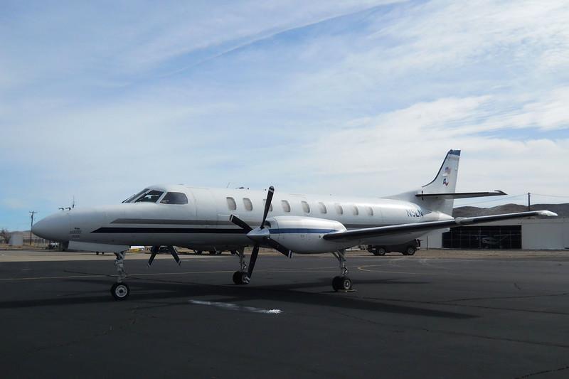 Fairchild SA227-DC Metro 23 (1995) N5LN<br /> Casparis Airport, Alpine, Texas - January 2015