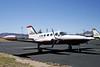 Cessna 421B Golden Eagle [1974] N522BA<br /> Casparis Airport, Alpine, Texas - April 2010