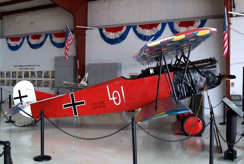 "1918 Fokker D.VII replica [1990] N1258<br /> Cavanaugh Flight Museum, Addison, Texas - April 2008<br /> <br /> While at home on medical leave for a serious ear infection, Udet reacquainted himself with his childhood sweetheart, Eleanor ""Lo"" Zink. When he returned to duty, he had Lo's name painted on the side of his aircraft. On the aircraft's elevators, he also had the legend ""Du doch nicht!"" (""Definitely not you!"") painted as a taunt to any attacking aircraft. Ernst and Lo married in 1920, but due to his womanizing ways, the marriage ended less than three years later."