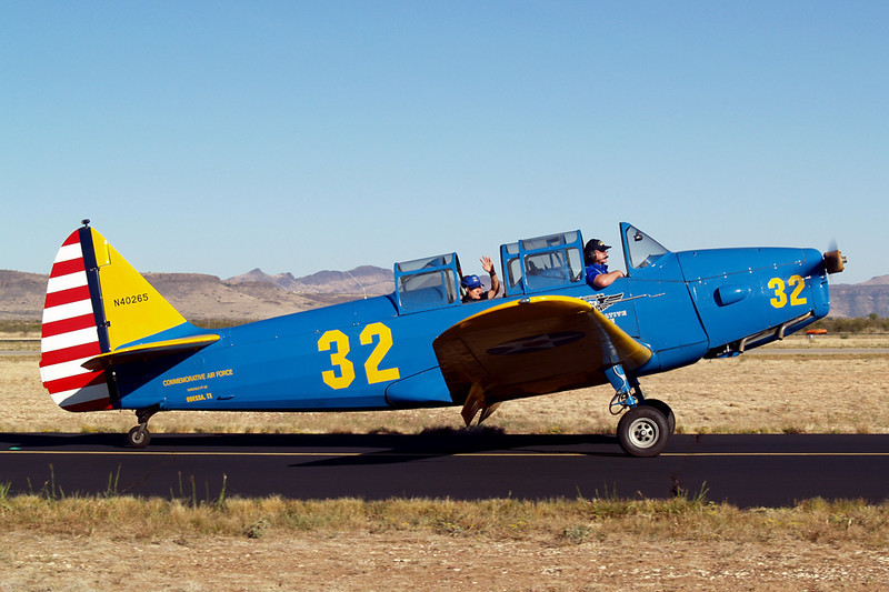 Fairchild M-62A-4/PT-26 [1941] N40265<br /> Casparis Airport, Alpine, Texas - October 2011