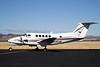 """Beechcraft Raytheon B200 Super King Air [2000] N96AM<br /> Casparis Airport, Alpine, Texas - January 2010<br /> <br /> This aircraft is owned by Texas A&M University, as indicated by the """"AM"""" in the N-number, and must have been on a training mission of some sort. They landed, taxied to the ramp, and shut down, after which the pilot turned and began talking to the passengers/crew. Then, they fired it back up, taxied out, and took off, without ever getting out of the plane, even for a bathroom break or a Coke."""