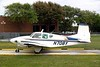 Beechcraft 95 Travel Air [1958] N708Y<br /> Addison Airport, Addison, Texas - April 2008<br /> <br /> The Beechcraft 95 Travel Air was a twin-engine development of the Beechcraft Bonanza, merging the fuselage of the G-35 Bonanza and the tail control surfaces of the T-34 Mentor. It was designed to fill the gap between the single engine Model 35 Bonanza and the much larger Model 50 Twin-Bonanza.