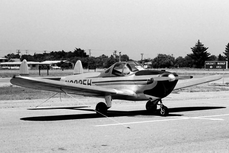 Ercoupe 415-C [1946] N2035H<br /> Oxnard Airport, Oxnard, California - early 1970s