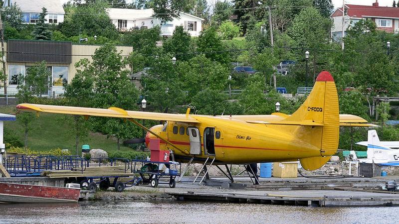 de Havilland Otter at Red Lake, Ontario.