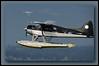 Tofino Air DH2 Beaver C-FHRT - departing YVR seaplane base.