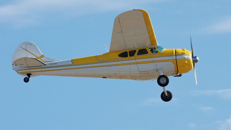 1948 Cessna 195A N4324N at Paine Field, Everett, WA.