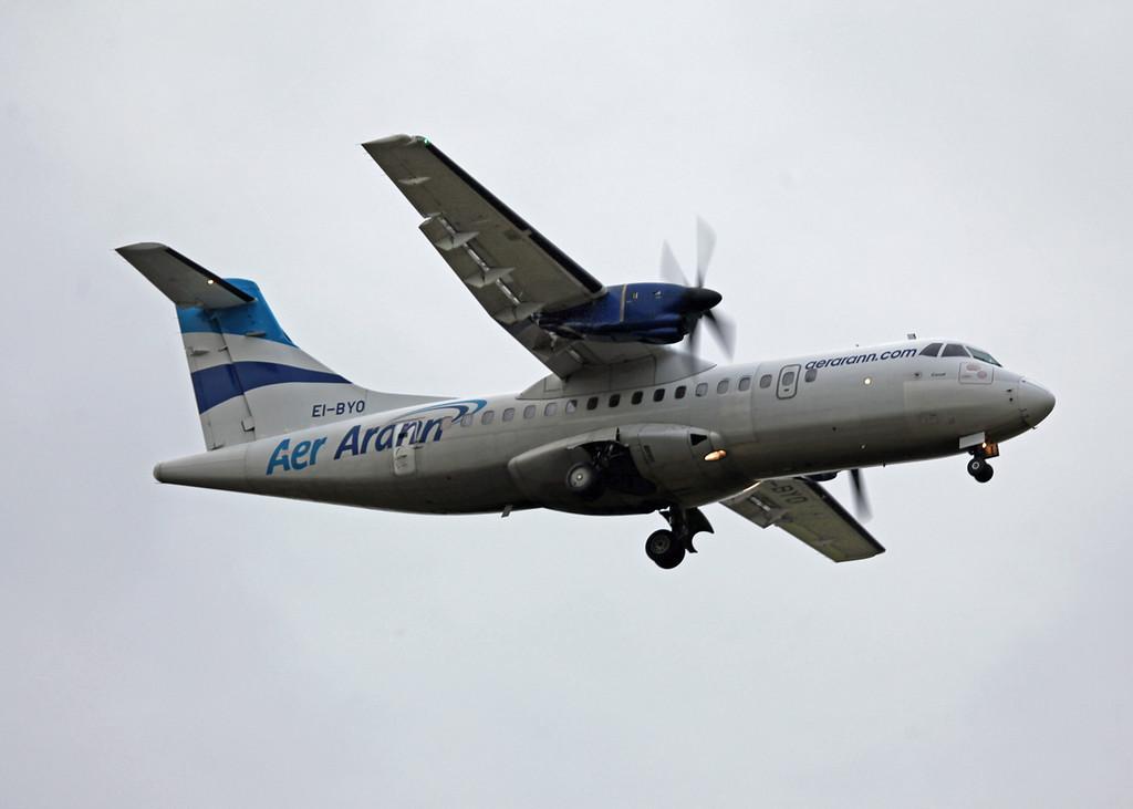 EI-BYO ATR 42-300 (MAN) Aer Arran