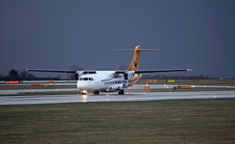G-COBO ATR 72-212 A (MAN) AURIGNY (Channel Islands)